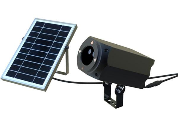 Faro per illuminazione natalizia ad energia solare