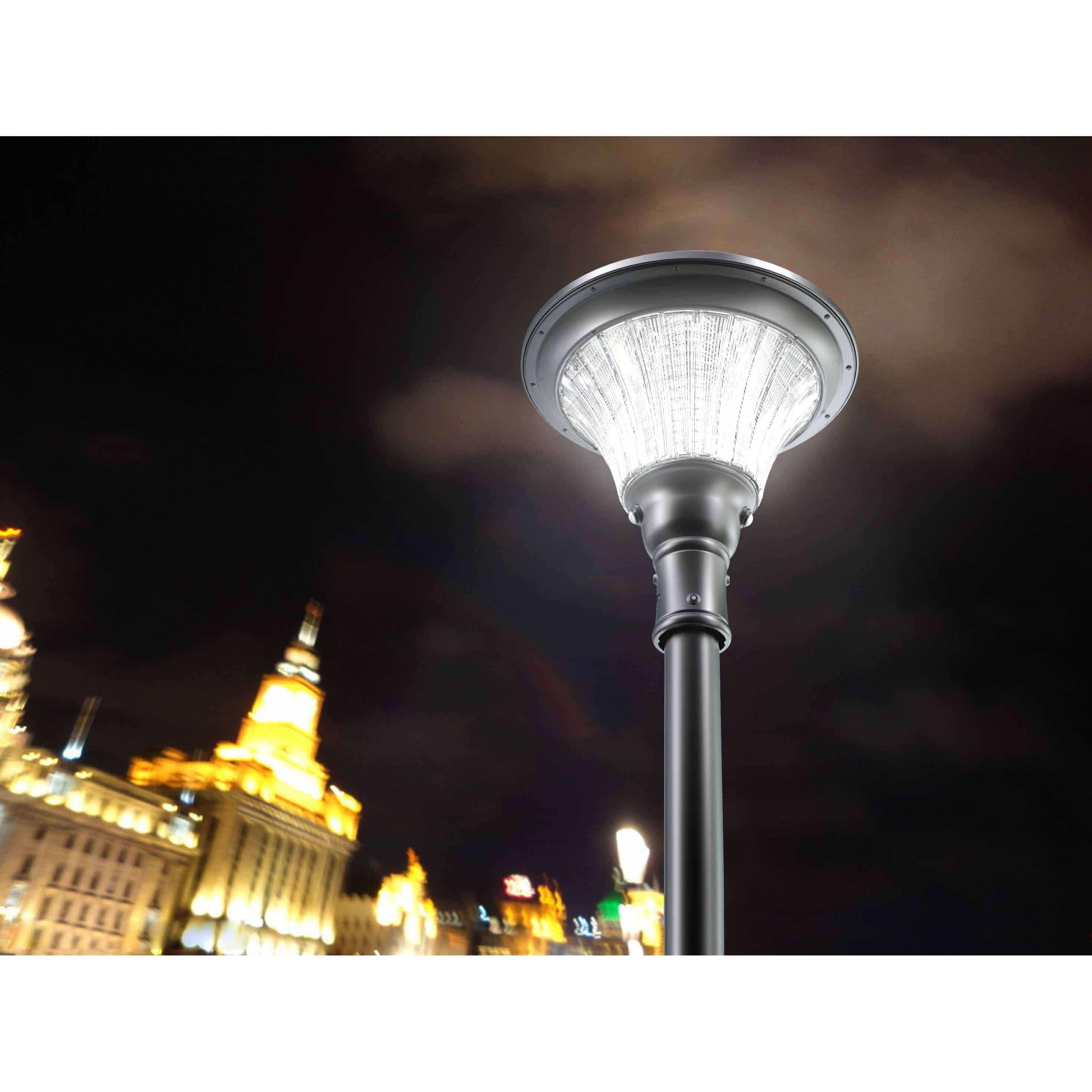Lampione led ad energia solare per esterno ecoworld for Filtro per laghetto ad energia solare