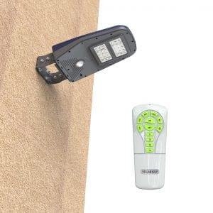 installazione lampione a energia solare