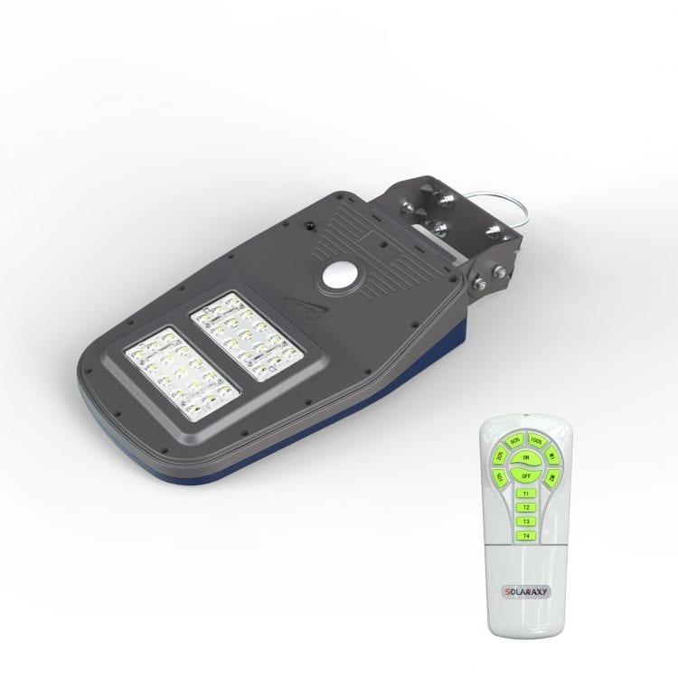 lampione led con telecomando e pannello fotovoltaico 1000 lumen