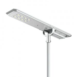 lampione ad energia solare stradale
