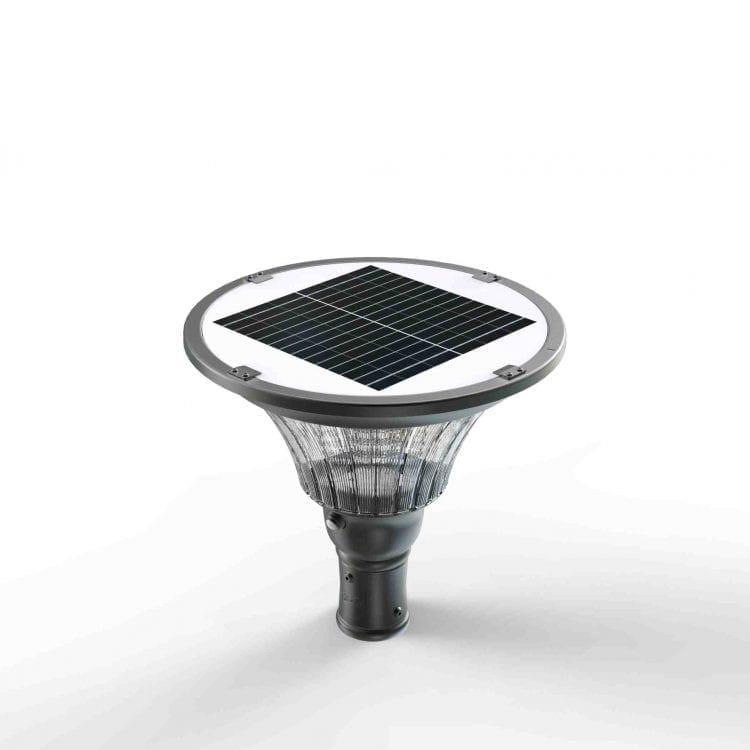 Lampione led con pannello fotovoltaico 2000 lumen