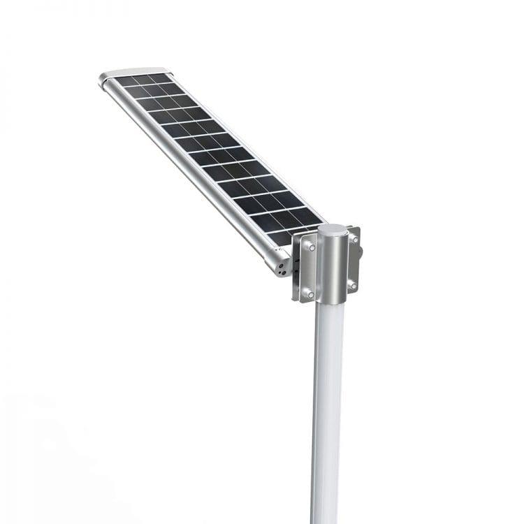 Lampione fotovoltaico stradale dettaglio pannello solare