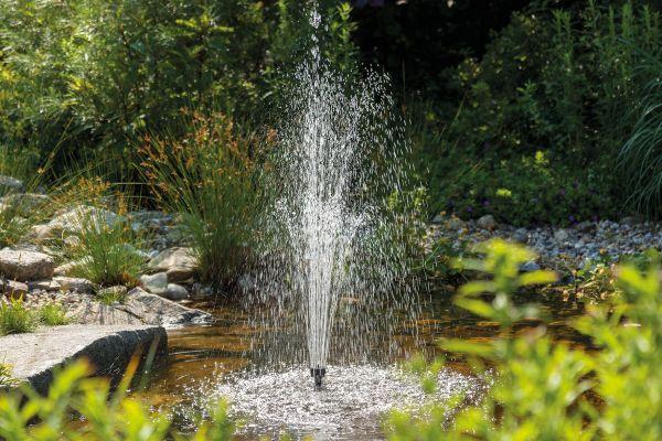 Pannello Solare Per Fontana : Pompa solare l h fontana per laghetti con pannello
