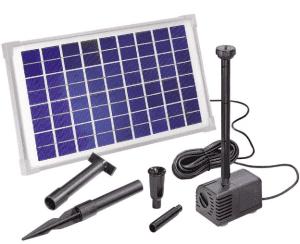 Pompa solare per laghetti pannello fotovoltaico 10 watt