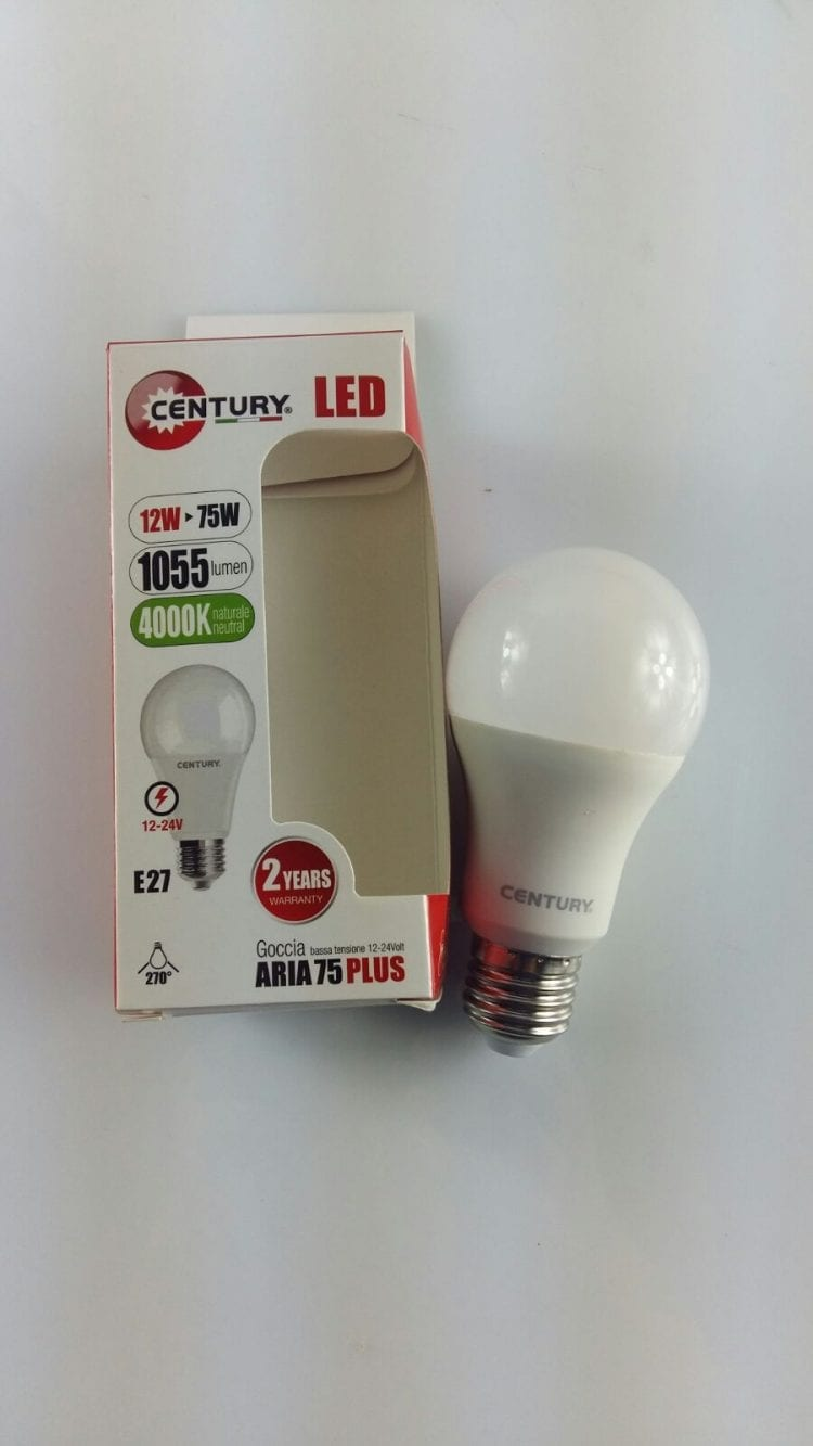 lampadina led 12/24 volt