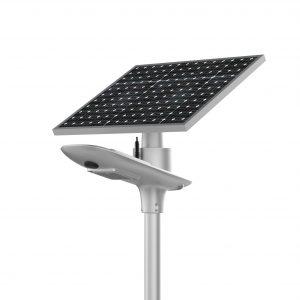 lampione solare per esterno