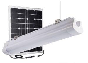 Lampada pendente ad energia solare plafoniera led