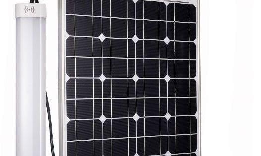 Plafoniera Da Esterno A Batteria : Plafoniera a led da esterno con pannello solare lumen