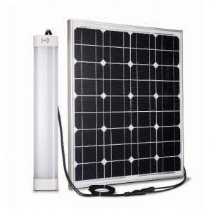 Plafoniera led da esterno alimentata ad energia solare