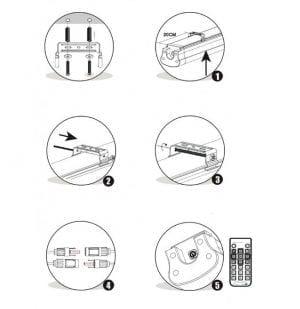 indicazioni installazione plafoniera led