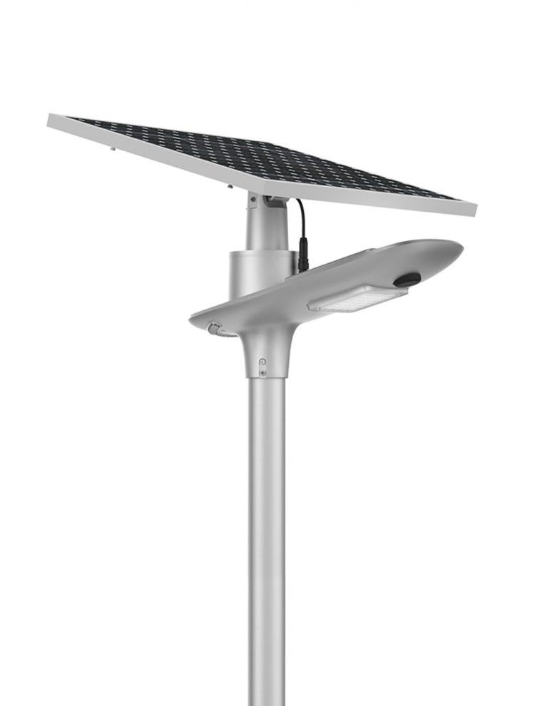 Lampione Solare led con sensore di movimento