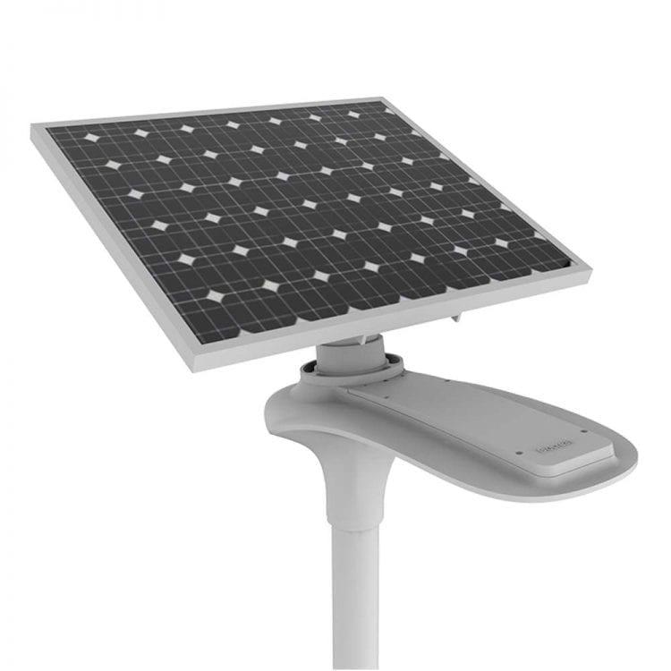 pannello fotovoltaico e lampione led stradale