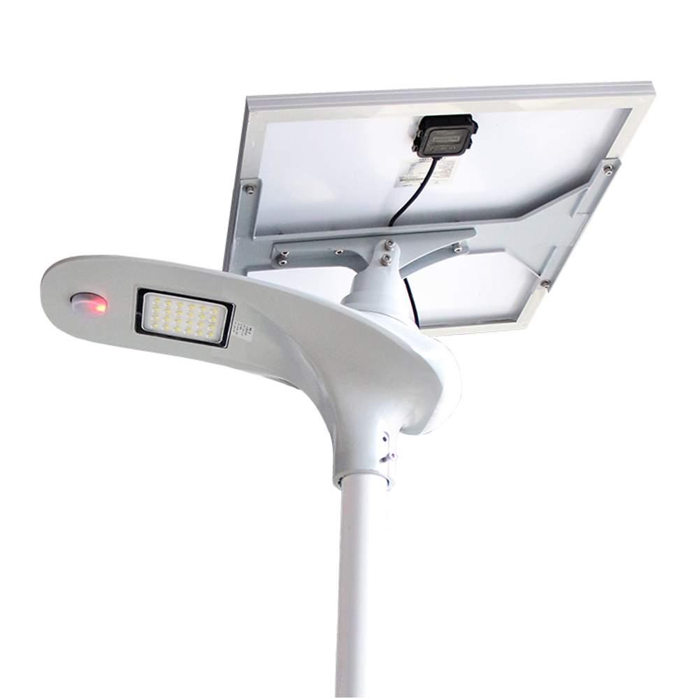 Lampione stradale led solare 3000 lumen con pannello for Illuminazione stradale led