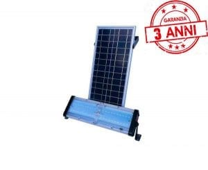 faro energia solare potente 4000 lumen