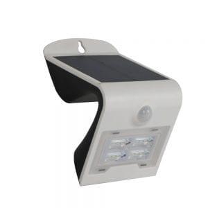 lampada applique da muro a led solare
