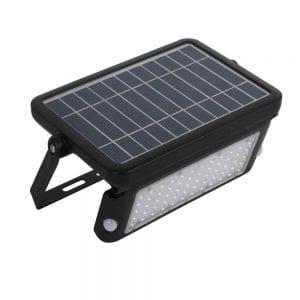 faretto ad energia solare con sensore di movimento