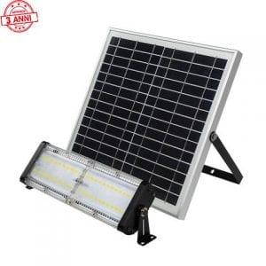 faro solare led con pannello solare 400w 5000 lumen