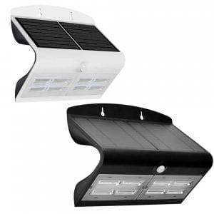 lampada con pannello fotovoltaico