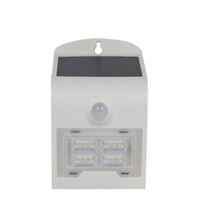 lampada a led con pannello fotovoltaico