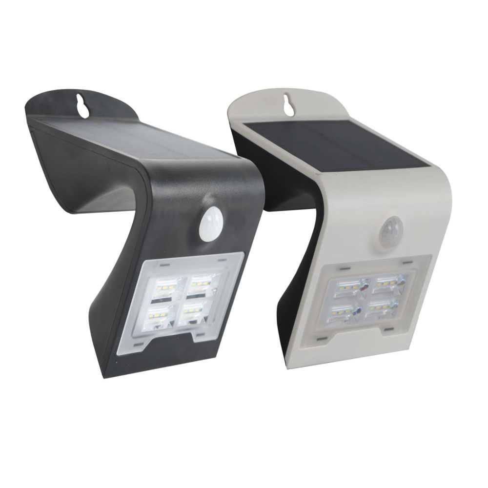 Applique led da esterno ad energia solare 2 w ecoworld for Lampade led esterno