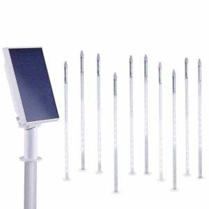 luci di natale tubo luminoso led a energia solare