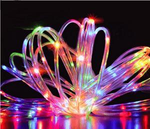 luci di natale esterno multicolor