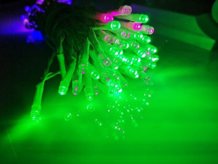 luci di natale 100 led