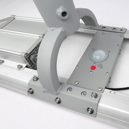 pulsante accensione/spengimento e cambio modalità di funzionamento del lampione solare a led
