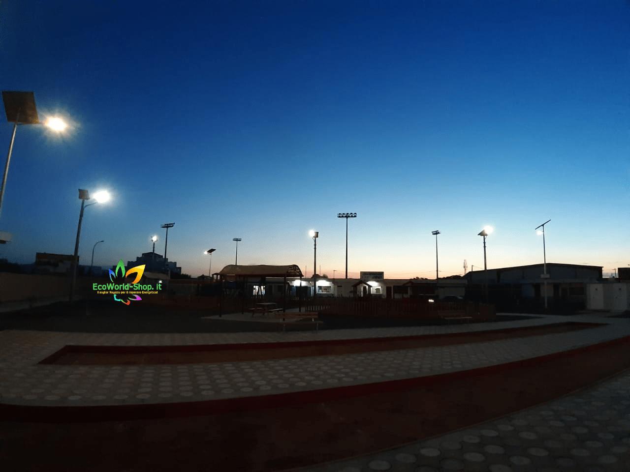 Illuminazione Parc Roma presso Gibuti