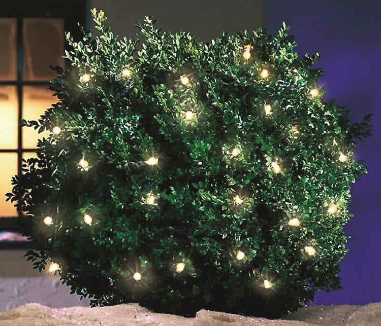 luci natalizie per decorazione ad energia solare