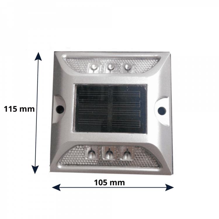 dimensioni marker stradale fotovoltaico