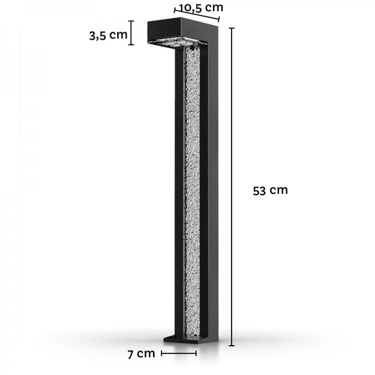dimensioni lampioncino ad energia solare