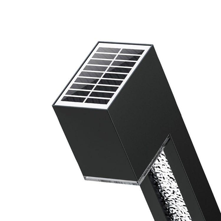 lampioncino con pannello solare