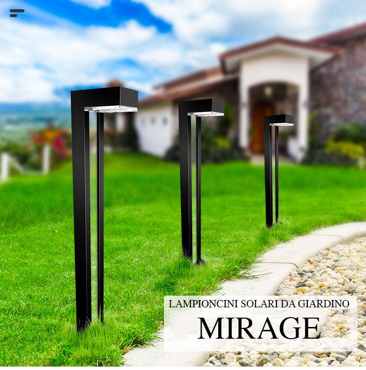 installazione giardino lampioncini solari mirage1