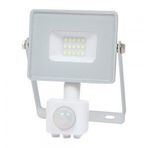 faretto led con sensore di movimento per esterno 10 watt 800 lumen VT-10S