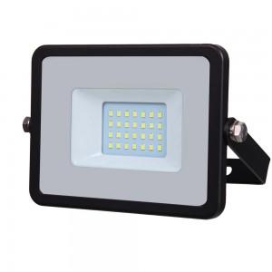 faro a led da esterno da 20 watt 1600 lumen VT-20 nero
