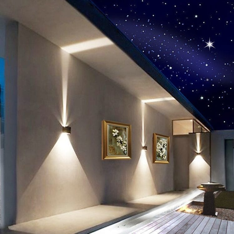 immagine illuminazione notturna