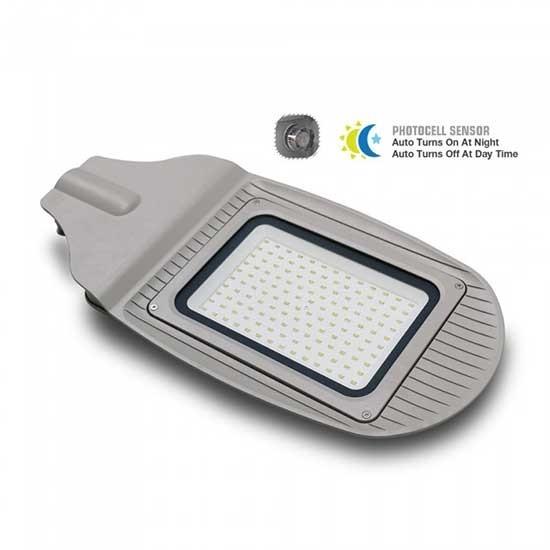 lampione stradale led con crepuscolare