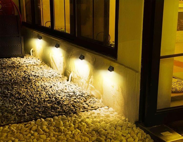 Illuminazione camminamento lamapde solari 1000 lumen