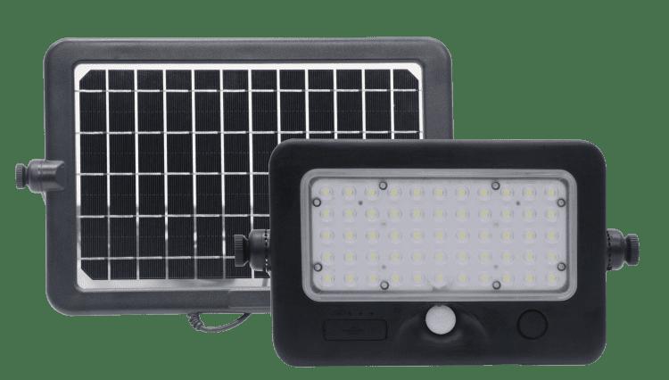lampada da parete ad energia solare