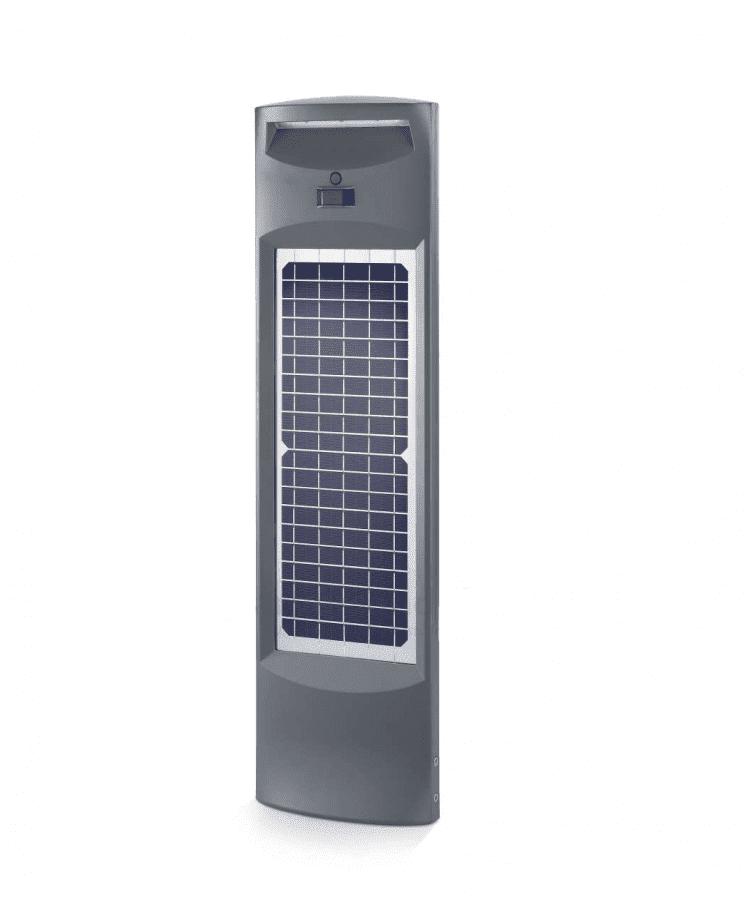 illuminazione ad energia solare con lampioncini