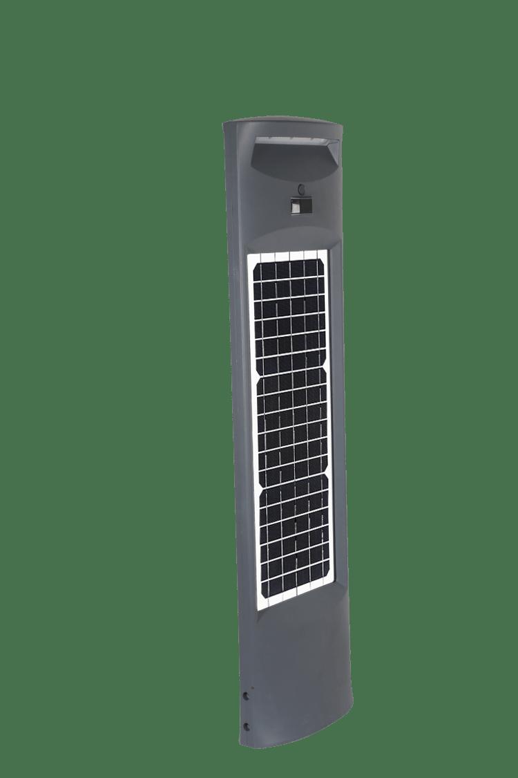 lampioncino solare per esterno con doppio pannello solare