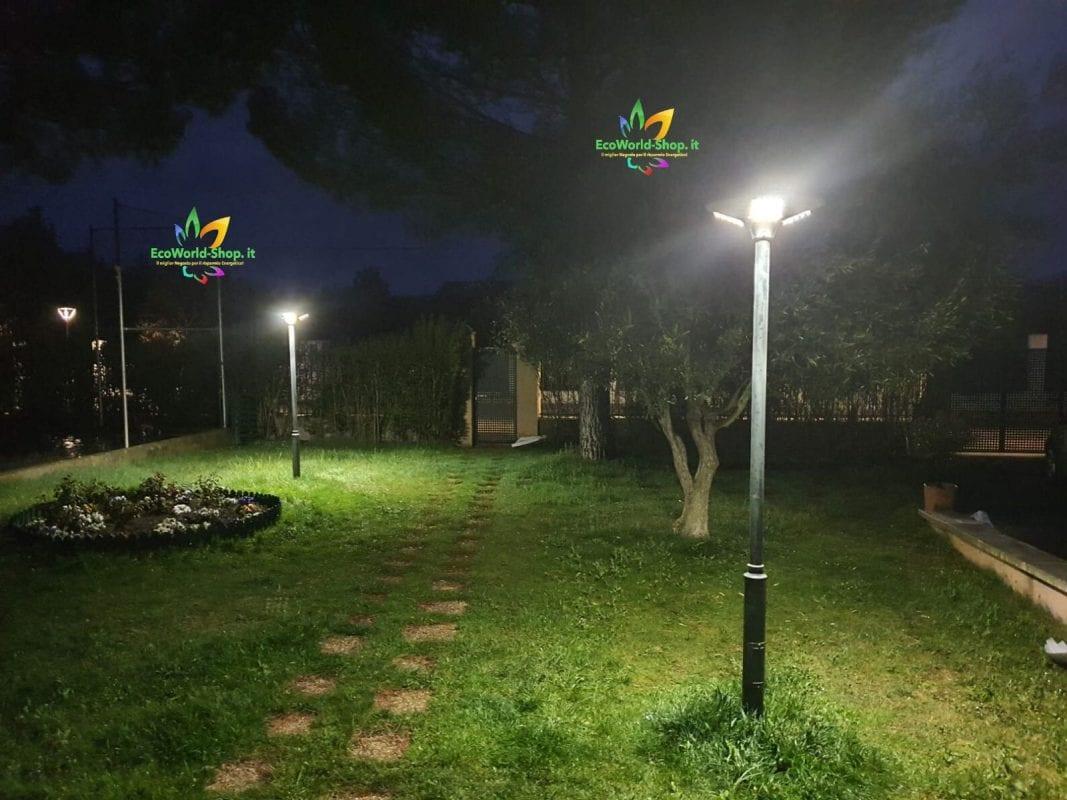 Lampione ad Energia Solare per illuminazione esterna