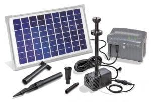 pompa ad energia solare per donare un tocco di stile al tuo laghetto