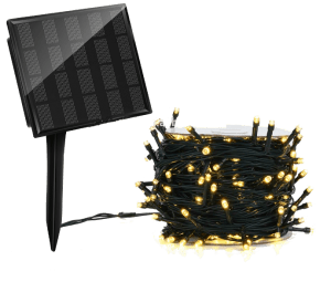 luci natalizie ad energia solare 500 led da esterno