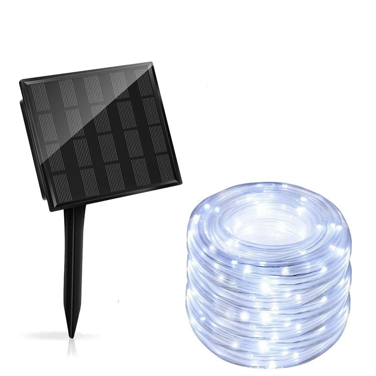 tubo luminoso luci di natale bianco freddo