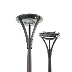 Lampione led solare per esterno