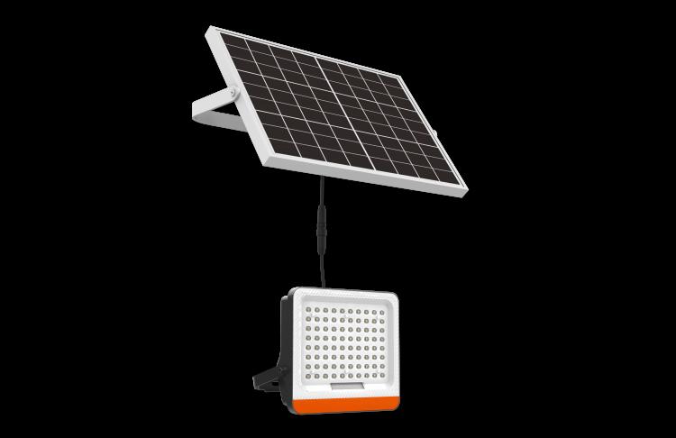faretto solare led per esterno