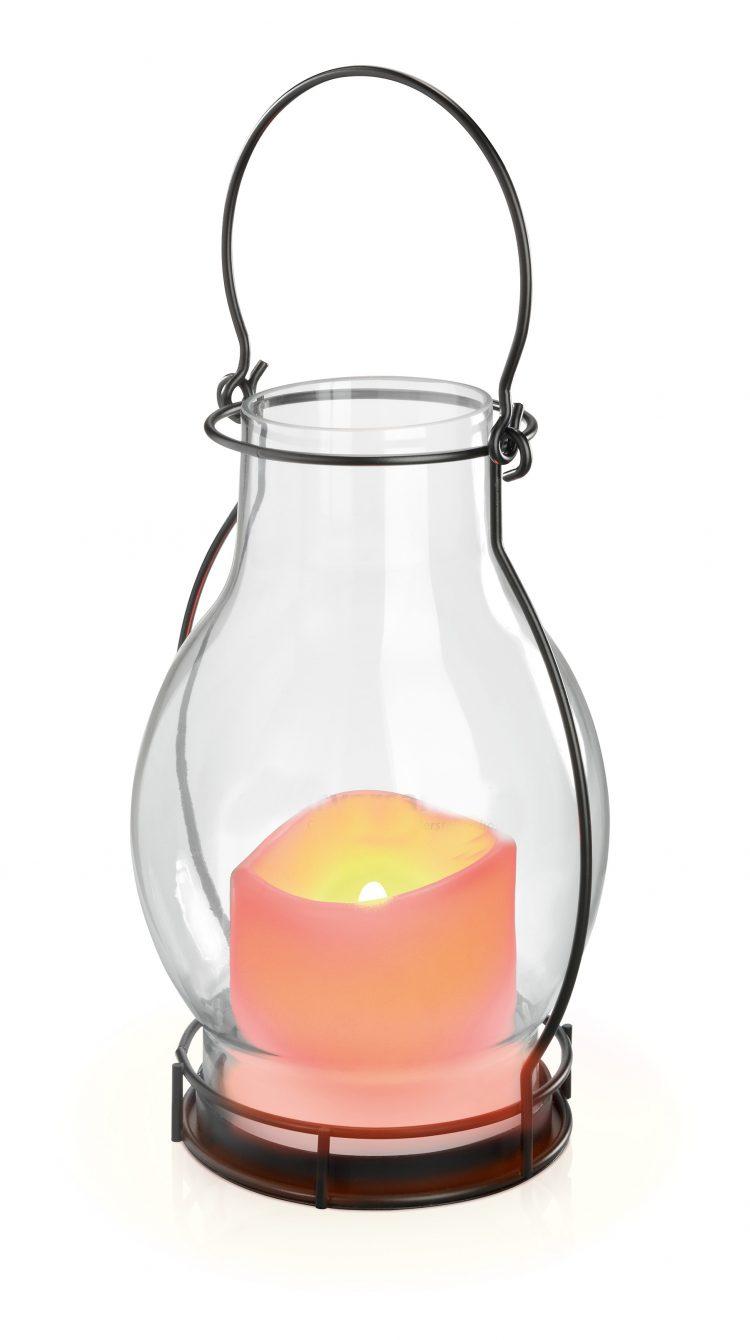 lampada decorativa effetto fiamma